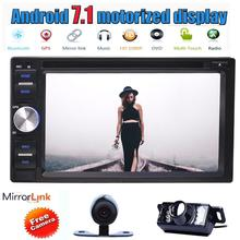 """Android 7.1 Octa Core 6.2"""" Car DVD Player in Dash GPS Navigation Radio Stereo Bluetooth Head Unit WIFI USB/SD FM AM+Back Camera"""