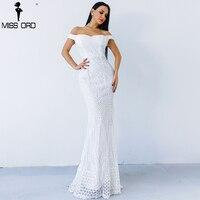 Missord 2018 Sexy bra  party dress sequin maxi dress FT4912 5