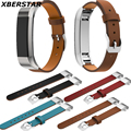 Genuine Leather Wrist Strap Bands For Fitbit Alta Activity and Sleep Tracker