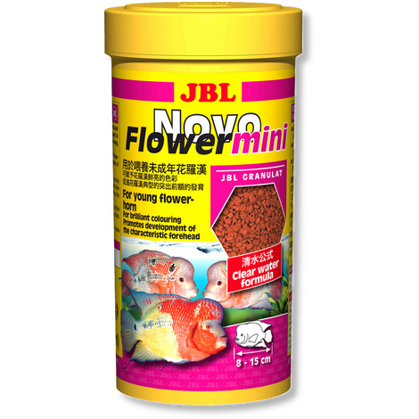 Jbl flowerhorn cichlids granules tropical fish food for Flower horn fish price
