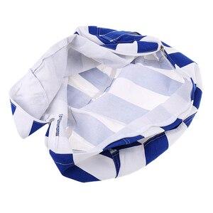 Image 5 - Nuevo portátil de lona de peluche bolso juguete de felpa plegable niños ropa de almacenamiento de bolsa de frijol para casa Multi propósito organizador bolsa