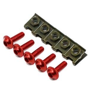 Image 2 - Tornillos de carenado para accesorios de motocicleta para Ducati 996B 996S 996R 998B 998S 998R 999S 999R 5 piezas tornillos de carenado de 6mm