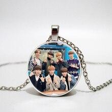 Kpop niños perdidos collar de los hombres coreanos de equipo de los Fans de moda colgante de collar hecho a mano personalizado regalos personales.
