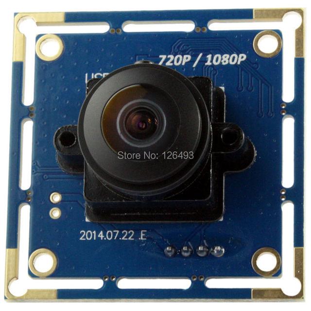 1080P CMOS OV2710   free driver 180degree fisheye camera module full hd wide angle webcam usb