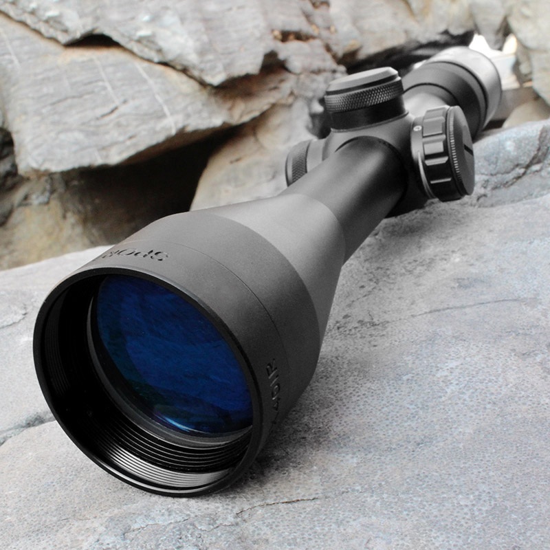 New Optics Rifle Scope 3-9X40 Tactical Gun Weapon Sight hunting riflescope with 2 Weaver Mounts for SNIPER HUNTING