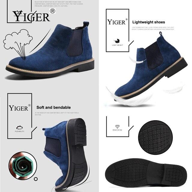Ankle Boots Fashion Men's Shoes 3