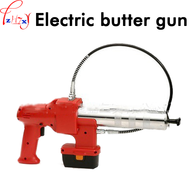 Hand-held portable electric grease gun MD-400C reciprocating charging electric grease gun 12V