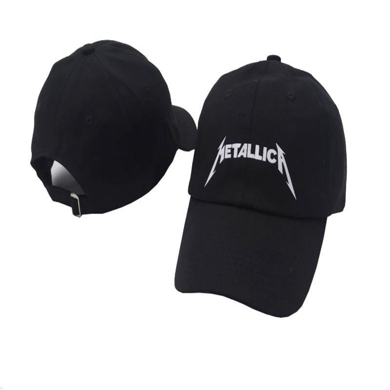 The band Metallica European and American Rock Music Baseball Cap Adjustable High Quality Dad Hats Men Women Street Snapback