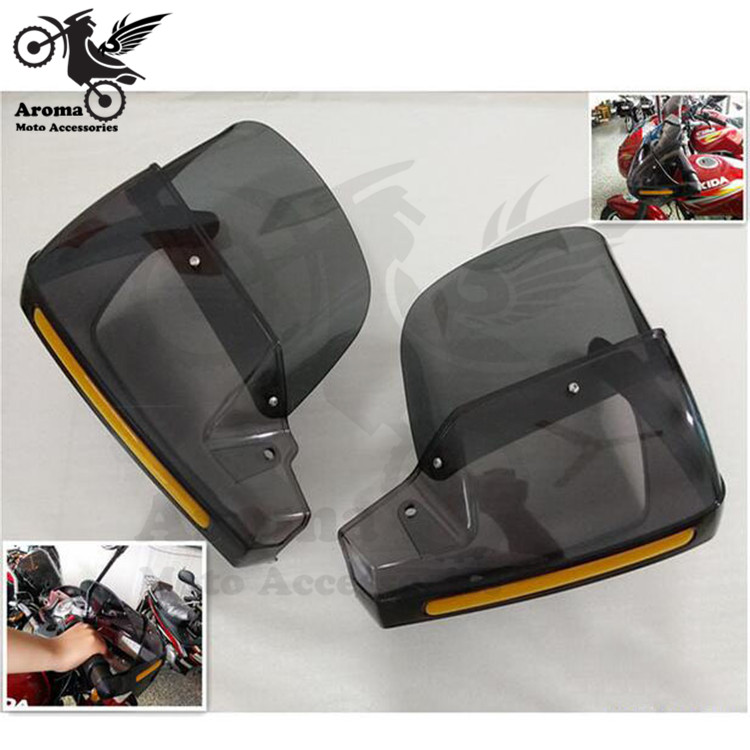 transparent unviersal motocross ATV Off-road motorbike hand guard moto fall protection for Harley Davidson motorcycle handguard