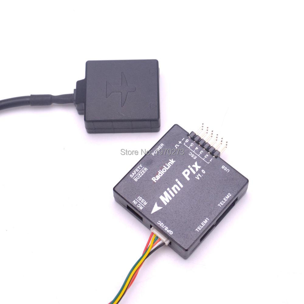 Mini M8N 8N GPS Module Compatible with Radiolink Mini PIX Pixhawk Flight  Controller for RC Racing Drone FPV Quadcopter