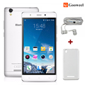 "Dom gratuito Blackview MTK6580 A8 telefone móvel 5.0 ""IPS HD Quad Core Android 5.1 smartphone 1 GB RAM 8 GB ROM 8MP 3G GPS do telefone celular"
