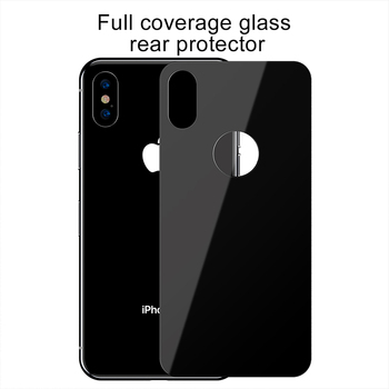 Baseus 0.3mm Protective Glass For iPhone Xs Xs Max XR Back Film Tempered Glass Ultra Thin 9H Scratch Proof Back Glass Film Cover 2