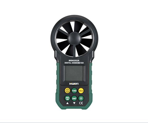 MS6252A Anemometer Air Velocity Flow Temperature,Digital Anemometer peakmeter ms6252b digital anemometer air speed velocity air flow meter with air temperature humidity rh usb port