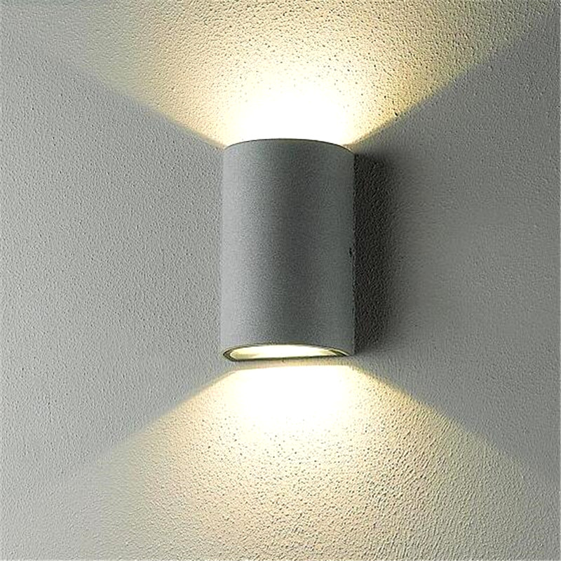 Cob modern led wall lamps 25w indoor outdoor lighting surface cob modern led wall lamps 25w indoor outdoor lighting surface mounted waterproof 10w led wall light up down lights wall sconce in wall lamps from lights aloadofball Image collections