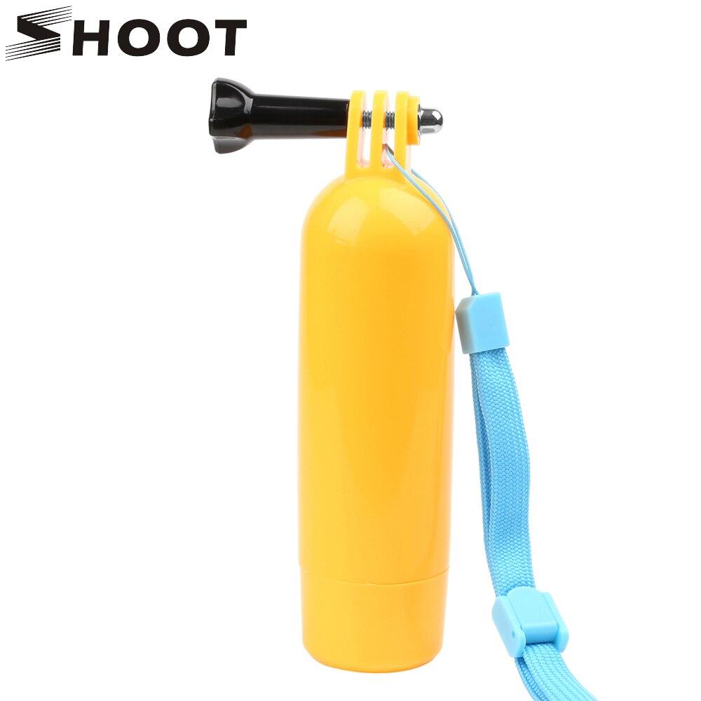 Galleria fotografica SHOOT Bobber Stick Float Hand Grip for GoPro Hero 5 4 3 Xiaomi Yi 4K SJCAM SJ4000 SJ5000 SJ7 Eken Action Camera Go pro Accessory