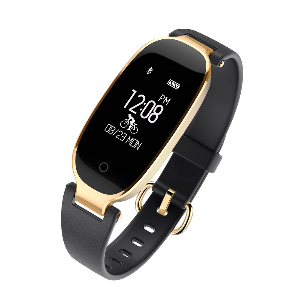 Fashion S3 Bluetooth Waterproof Smart Watch Wristband Bracelet Women Ladies Heart Rate Monitor Fitness Tracker for Android IOS bluetooth smartwatch men gps tracker wristband smart watch heart rate monitor waterproof women sports fitness smartwatch for ios