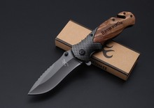 Wood Handle Browning X50 Tactical Folding knives Pocket Knife Steel Blade Survival Knives Huntting EDC Tool Dropshipping