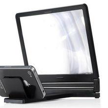 faroot, 3X увеличительное стекло, экран для мобильного телефона, 3D экран, складной HD усилитель для 3D фильмов