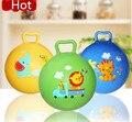 Hot Inflável Bola Quicando Bolas De Plástico Para Crianças Colorido Dos Desenhos Animados Animais Esporte Bola Brinquedos Educativos Brinquedos Do Bebê Bola