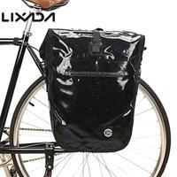 Lixada 20L Roller Bike Pannier Cycling Bicycle Rear Pack Bag Waterproof MTB Bike Seat Trunk Bag Rear Cycling Equipment