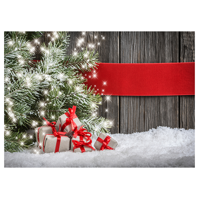 EDT-5X7ft Vinyl Christmas Theme Photography