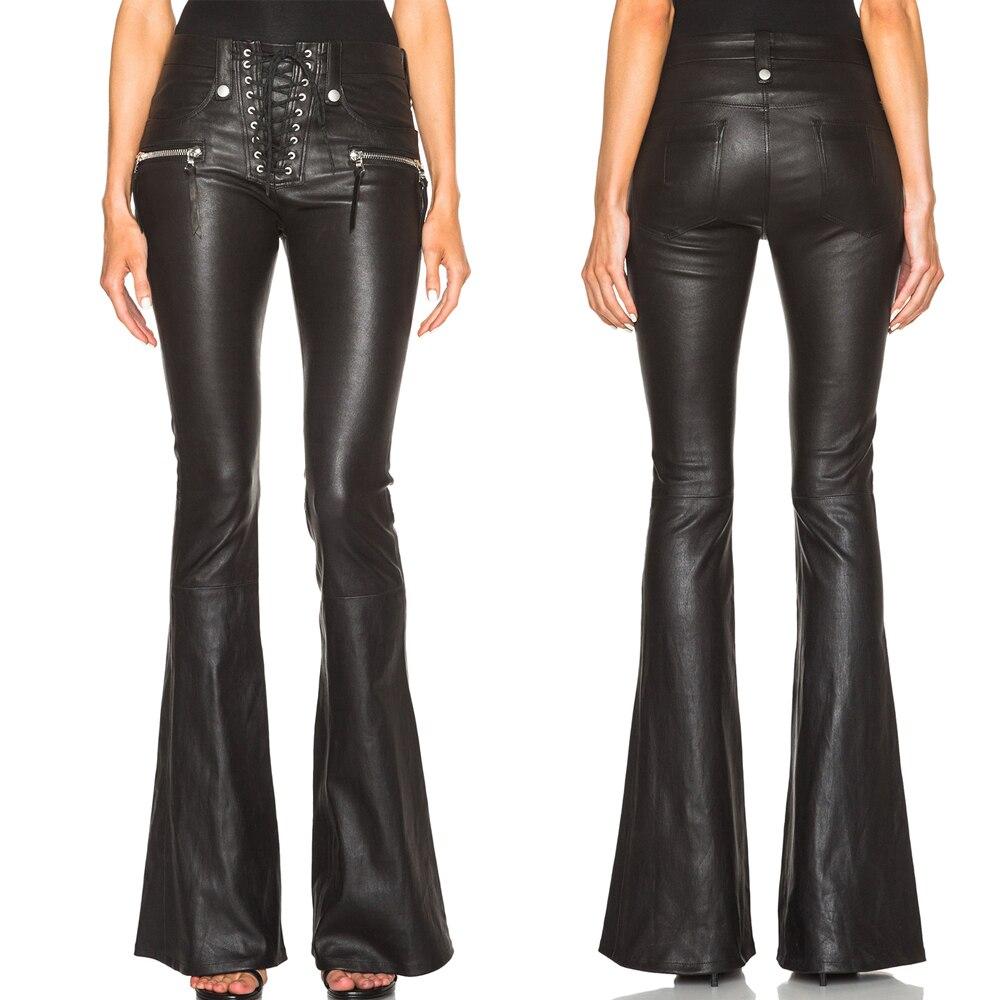 Simple Celebs In Black Leather Pants | POPSUGAR Fashion