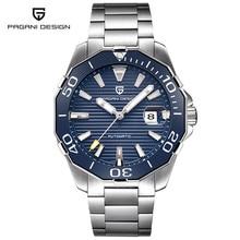 0b72fe09151 Homens do PROJETO PAGANI. s Clássico Série De Mergulho Relógios Mecânicos  Homens Relógio Marca de