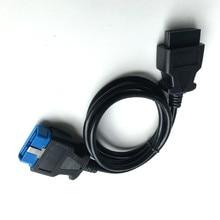 Высокое качество OBD2 адаптер 16 pin штекер 16 pin Женский кабель удлинитель OBD II OBDII 16 pin разъем