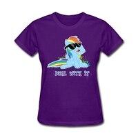 Women S My Little Horse Raindow Dash Tshirt Organizer Online XS 3XL T Shirts Big Girls