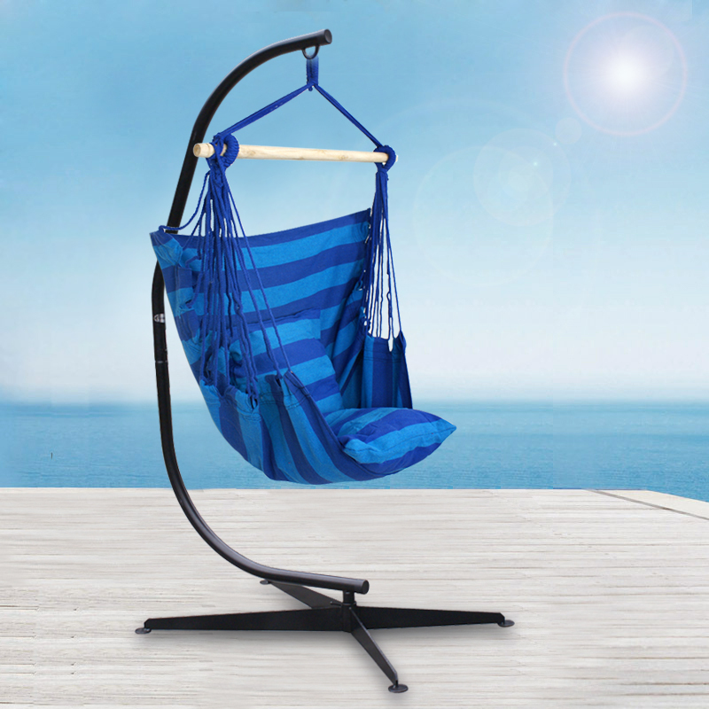 C Style Patio Hanging Hammock Chair Frame Stand Set Solid Steel  Construction New In Hammocks From Furniture On Aliexpress.com | Alibaba  Group