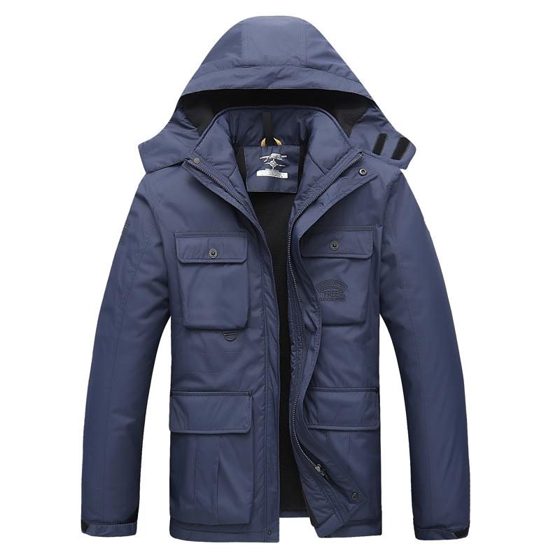 Winter men s cotton men s cotton loose coat plus extra large yards in the long