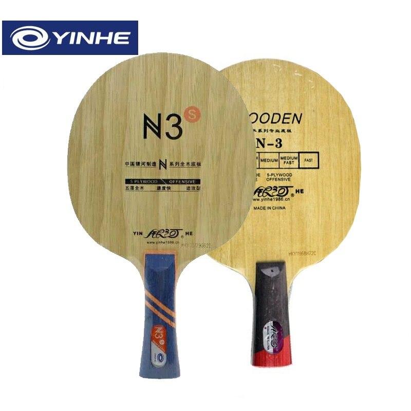 Yinhe N3 N-3 N3S Wooden N 3 Attack+Loop OFF Table Tennis Blade For PingPong Racket