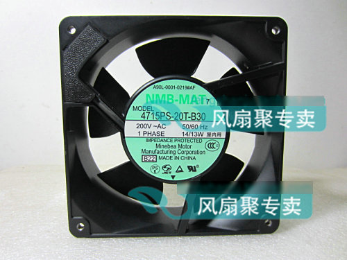 Original NMB 4715PS-20T-B30 A90L-0001-0219#AF 200V 14/13W for FANUC system cooling fan батарея apc rbc123
