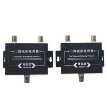 1 пара 2ch видео мультиплексор ahd камеры multiplextor 2 hd