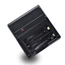 Carregador de Bateria 2 Slots Recarregável Bateria de Nimh AA Aaa Carregador Alta Capacidade