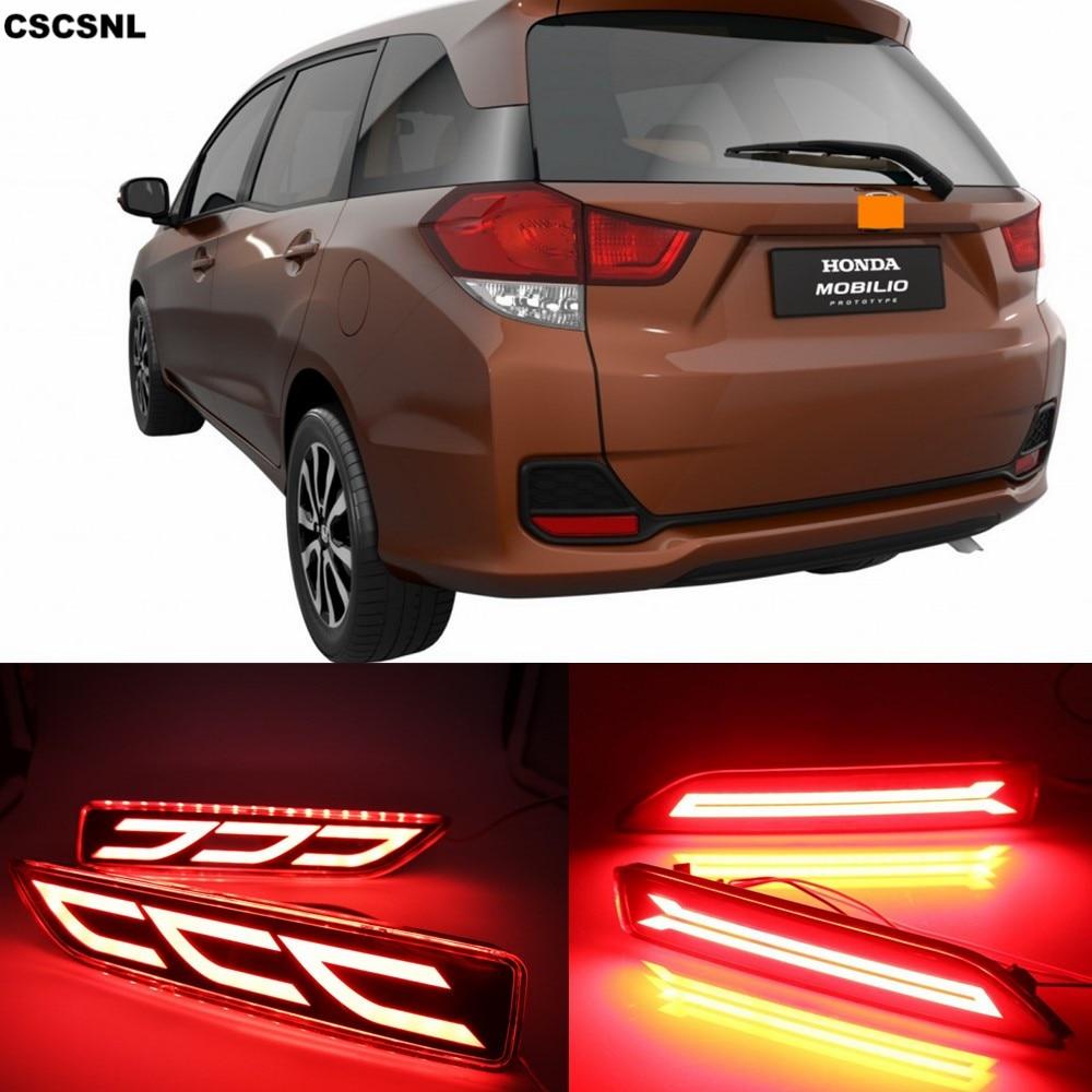 Rear Bumper Brake Lamp Sentral Fog Light Indicator For Suzuki Vitira 2015-2017