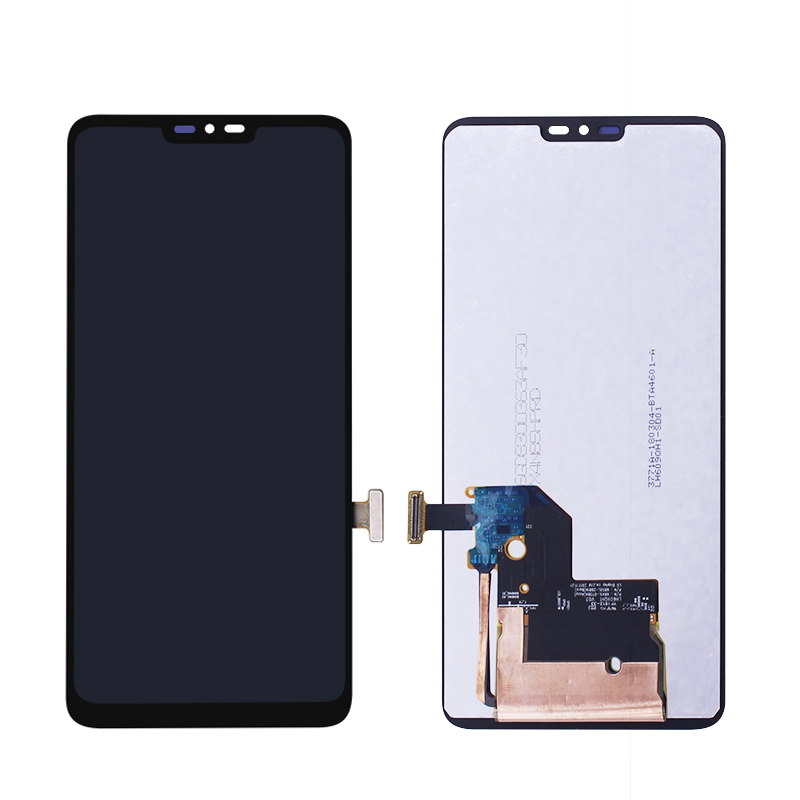 Per LG G7 ThinQ 6.1 Display LCD Touch Screen di Ricambio Digitizer Vetro Display LCD Touch Assemblea di Schermo senza CornicePer LG G7 ThinQ 6.1 Display LCD Touch Screen di Ricambio Digitizer Vetro Display LCD Touch Assemblea di Schermo senza Cornice