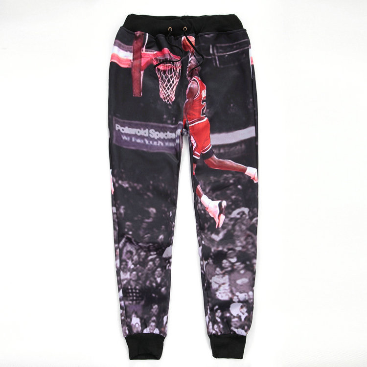 b0a038999af682 2015 New 3D Trousers Michael Jordan Classic Play Basketball Graphic Printed  Sweatpants Jordan Joggers Pants Hip Hop Mens Joggers-in Harem Pants from  Men s ...
