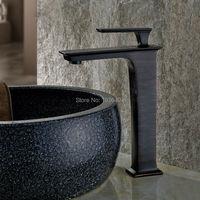 Single Handle Vessel Sink Vanity Lavatory Bathroom Sink Vessel Faucet Black Color B3274