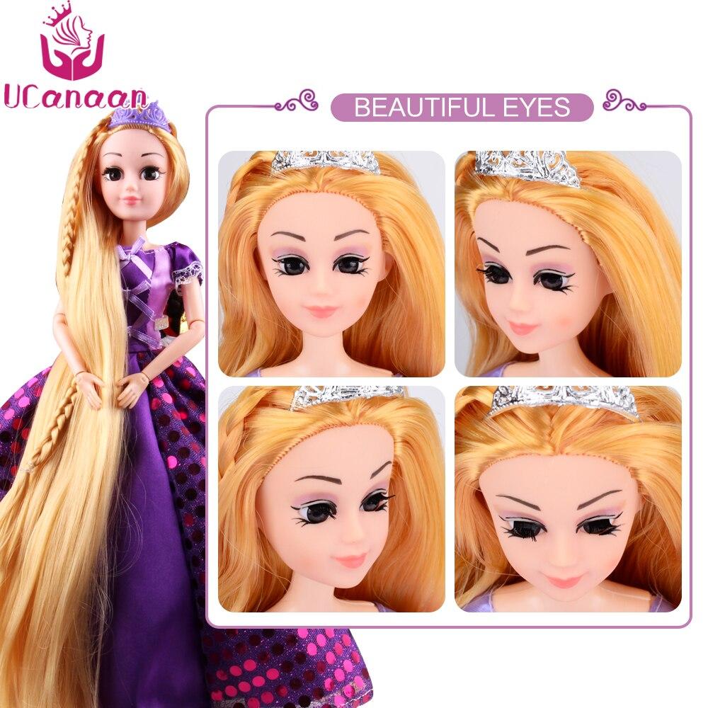 Ucanaan 30 Cm Manis Princess Rapunzel Mainan Untuk Anak Perempuan