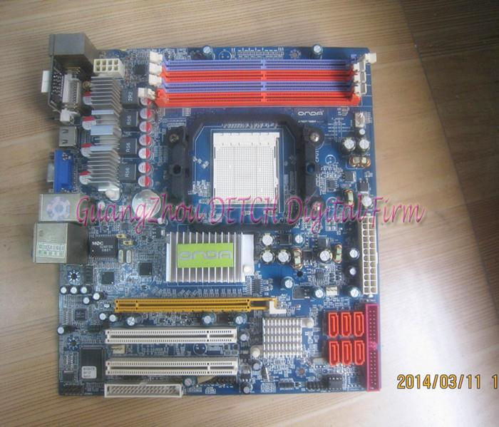 A78GT / 128M supports DDR2 AM2 motherboard integrated small plate A78
