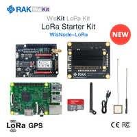 WisTrio LoRa Tracker Module RAK5205 LoRa Wireless Network Integrated Module  SX1276 LoRaWAN Modem Sensor Board with GPS Antenna