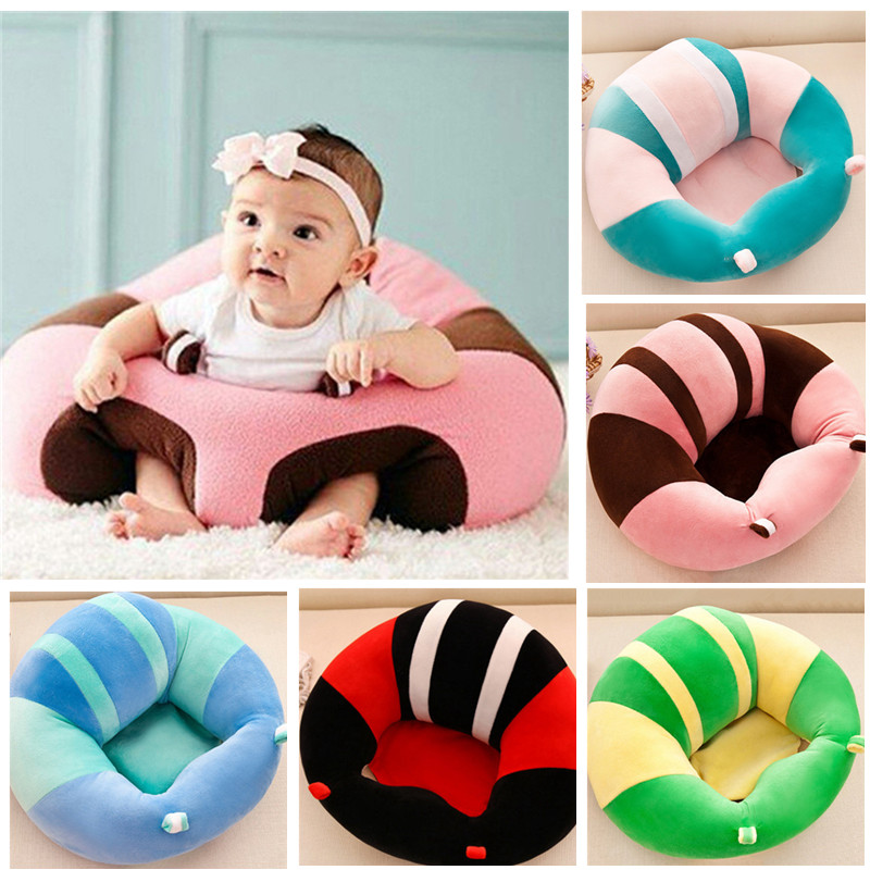 Baby Seat Support Seat Baby Soft Sofa Infant Learning To Sit Chair Safety Plush Legs Feeding Chair Keep Sitting Posture Chairs