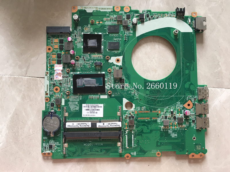 Laptop motherboard for 15-P 17-F DAY11AMB6E0 777104-501 777104-001 777104-601 i5-5200U,Fully testedLaptop motherboard for 15-P 17-F DAY11AMB6E0 777104-501 777104-001 777104-601 i5-5200U,Fully tested