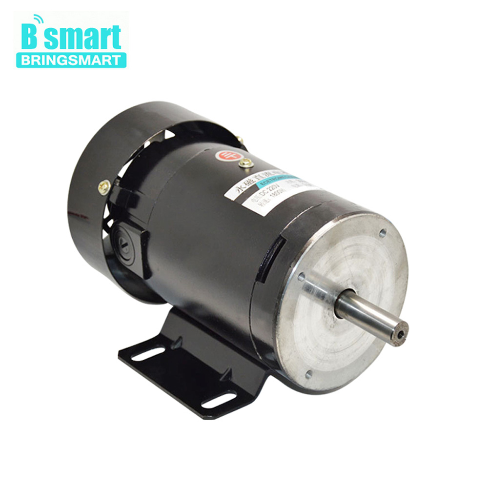 Permanent Magnet Motor >> Us 141 97 19 Off Zyt22 Dc 220v Permanent Magnet Motor High Speed 1800rpm 500w 220v Dc Speed Regulation Reversible High Torque Electric Motor In Dc