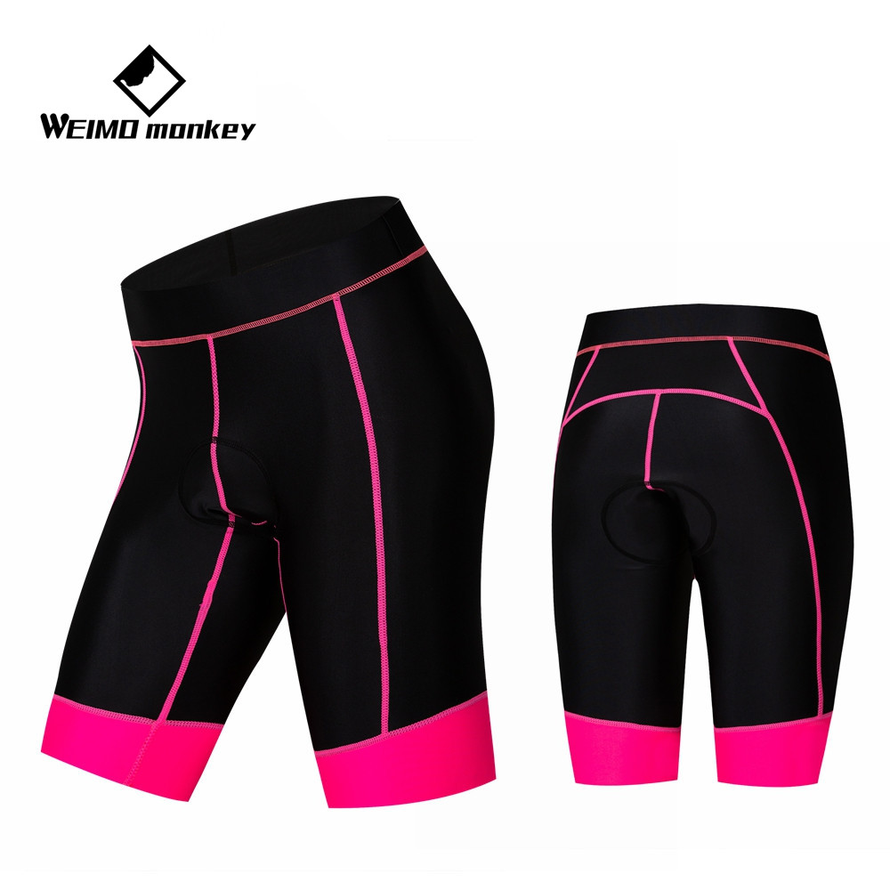 2019 New Outdoor Sports Soft Women Cycling Pants 3D Silicone Padded Bike Shorts
