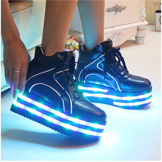 Light Up Sneakers For Adultssneakers The Led Shoe Colorful Glowing