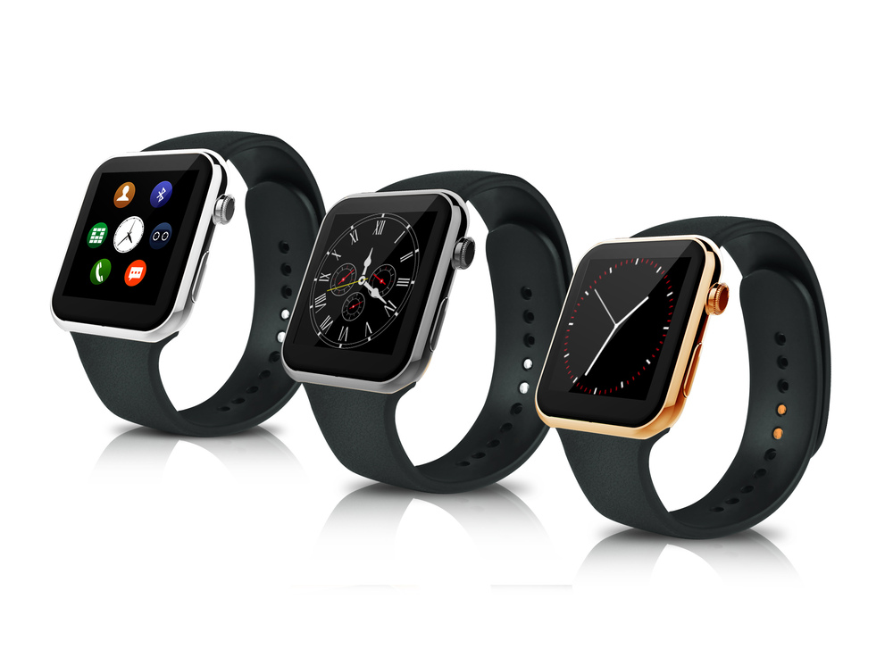 A9 font b Smartwatch b font Bluetooth Smart watch For Apple For iPhone For Samsung Android