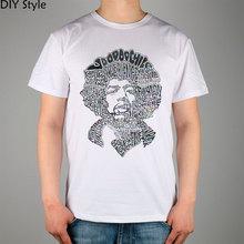 Rock Legende Jimi Hendrix Musiker t-shirt Baumwolle Lycra Top 10967 Mode Marke T-shirt Männer Neue Diy Stil Hohe Qualität