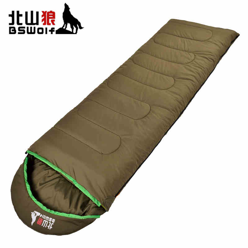 Spring Hooded  sleeping bag  Outdoor camping accessories     Thermal Camping Sleeping Bag Winter Sleeping  Bag